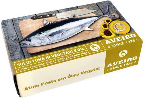 AVEIRO tuniak kúsky v rastlinnom oleji