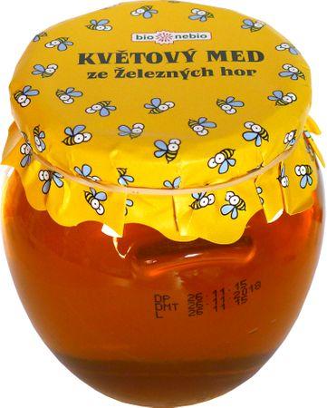 Bio Nebio Kvetový med zo Železných hôr zmiešaný