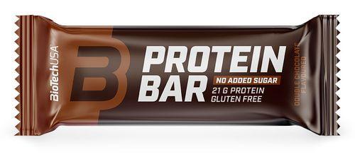 Biotech USA Protein Bar dvojitá čokoláda 70 g