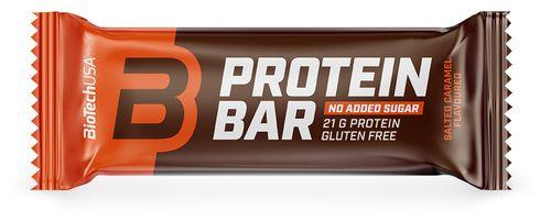 Biotech USA Protein Bar slaný karamel 70 g