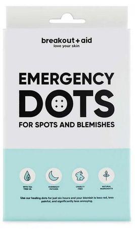 Breakout+aid Náplaste na lokálne ošetrenie akné