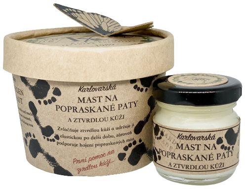 Krušnohorská lázeňská kosmetika Masť na Popraskané päty a stvrdnutú kožu