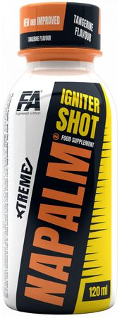 Fitness Authority Xtreme Napalm Igniter Shot mandarinka 120 ml