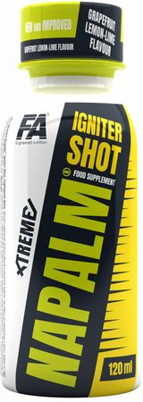 Fitness Authority Xtreme Napalm Igniter Shot grep/limetka 120 ml