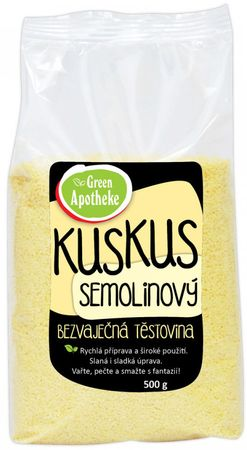 Green Apotheke Kuskus celozrnný