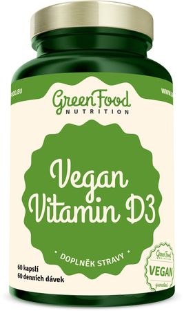 GreenFood Vegan Vitamín D3