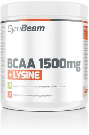 GymBeam BCAA 1500 + Lyzín