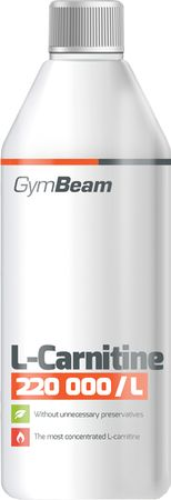 GymBeam L-carnitine 220000