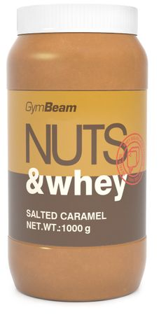 GymBeam Nuts & Whey Protein Peanut Butter