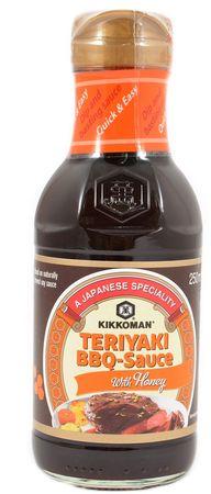 Kikkoman Teriyaki BBQ omáčka s medom
