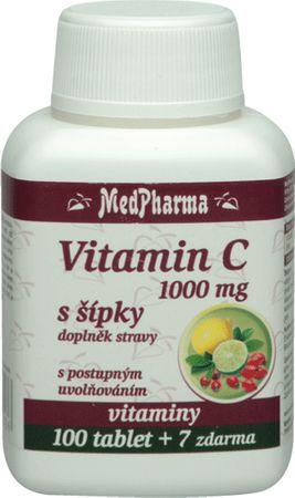 MedPharma Vitamín C 1000mg zo šípku
