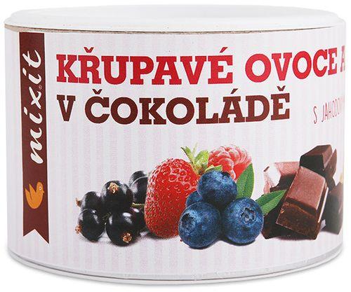 Mixit Chrumkavé ovocie a orechy v čokoláde