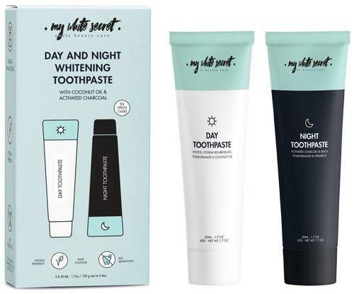 My White Secret denná a nočná bieliaca zubná pasta