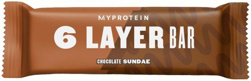 Myprotein 6 Layer Bar (Layered Protein Bar) chocolate sundae 60 g