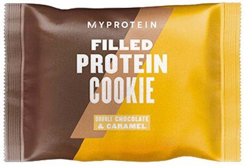 Myprotein Filled Protein Cookie dvojitá čokoláda/karamel 75 g