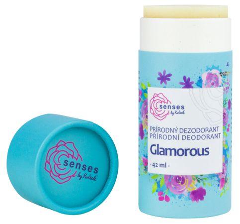 Kvítok Prírodný dezodorant Senses Glamorous