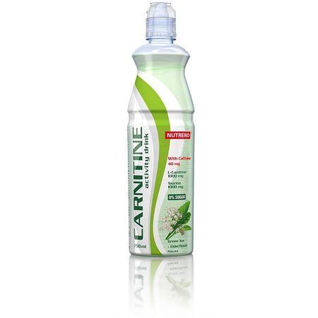Nutrend Carnitine Activity drink with caffeine zelený čaj/bezinka 750 ml