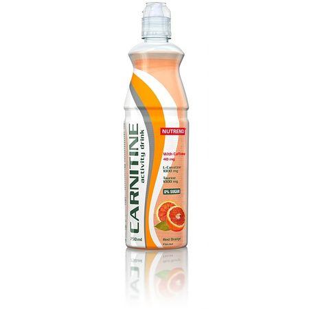 Nutrend Carnitine Activity drink with caffeine červený pomeranč 750 ml