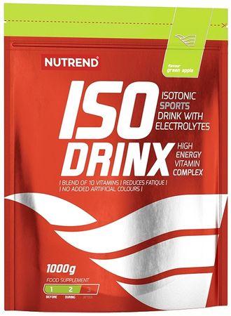 Nutrend IsoDrinX zelené jablko 1000 g