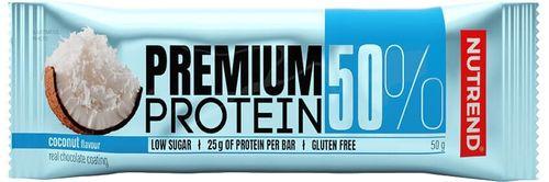 Nutrend Premium Protein 50 Bar kokos 50 g