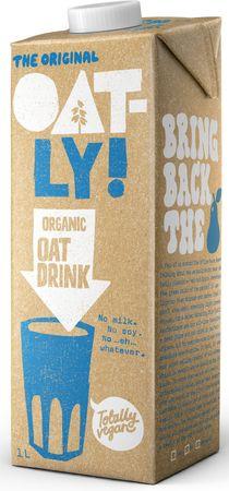 Oatly Ovsený nápoj Organic