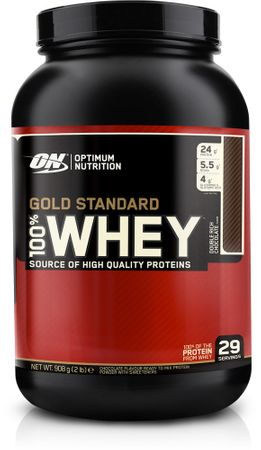 Optimum Nutrition Gold Standard 100% Whey jahoda 900 g