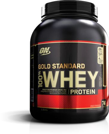 Optimum Nutrition Gold Standard 100% Whey jahoda 2280 g