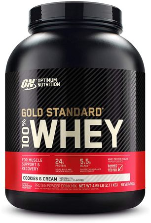 Optimum Nutrition Gold Standard 100% Whey cookies 2270 g