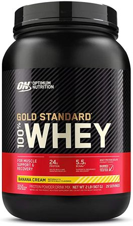 Optimum Nutrition Gold Standard 100% Whey banán 900 g