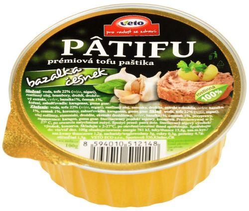 Patifu prémiová tofu paštéta