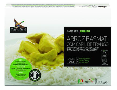 Pato Real Basmati ryža s kuracím karí
