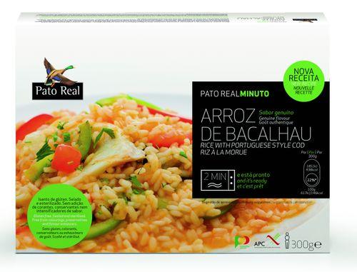 Pato Real Portugalská ryža s treskou