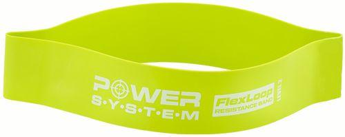 Power System posilňovacia guma Flex loop 60 cm x 5 cm x 12 mm světle zelená stredný odpor