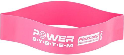 Power System posilňovacia guma Flex loop 60 cm x 5 cm x 8 mm růžová nízky odpor
