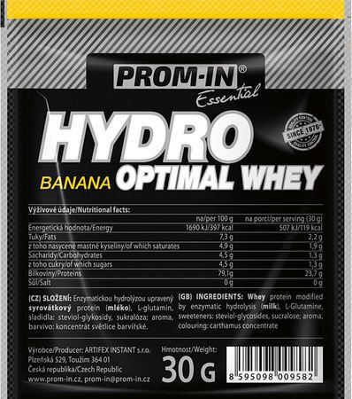 Prom-IN Hydro Optimal Whey banán 30 g