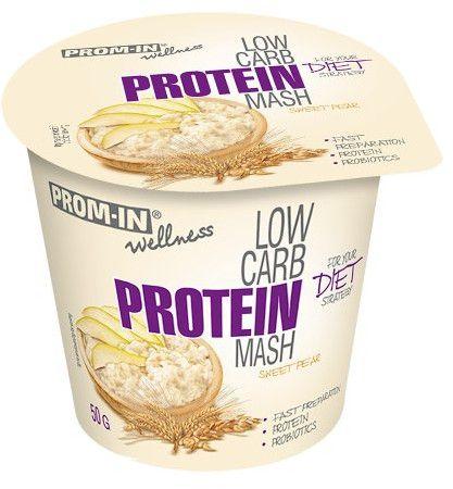 Prom-IN Low Carb Protein Mash hruška 50 g (kelímok)