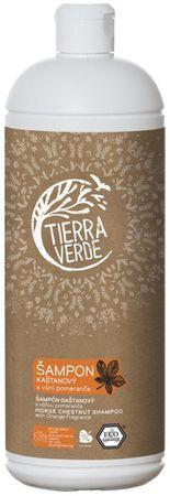 Tierra Verde Gaštanový šampón s pomarančom