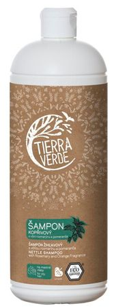 Tierra Verde Žihľavový šampón na mastné vlasy