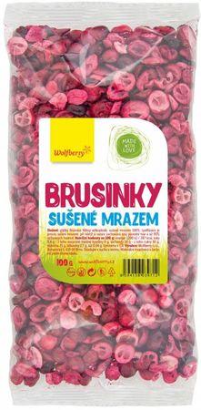 Wolfberry Brusnice sušené mrazom