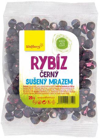 Wolfberry Čierne ríbezle sušené mrazom