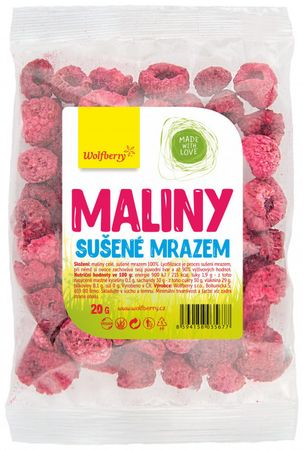 Wolfberry Maliny sušené mrazom