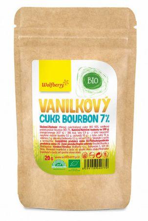 Wolfberry Vanilkový cukor Bourbon 7% BIO