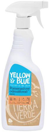 Yellow & Blue Pomarančový odmasťovač – sprej