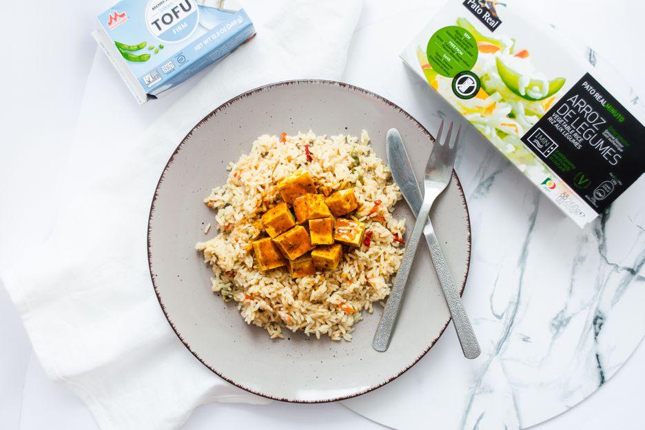 Pato Real Zeleninová ryža