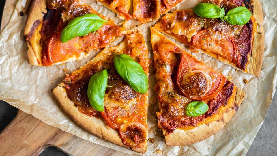Zdravá pizza Margharieta hotová do 10 minút