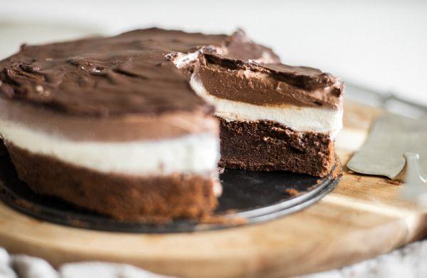 Fit dezert: Míša cheesecake plný bielkovín