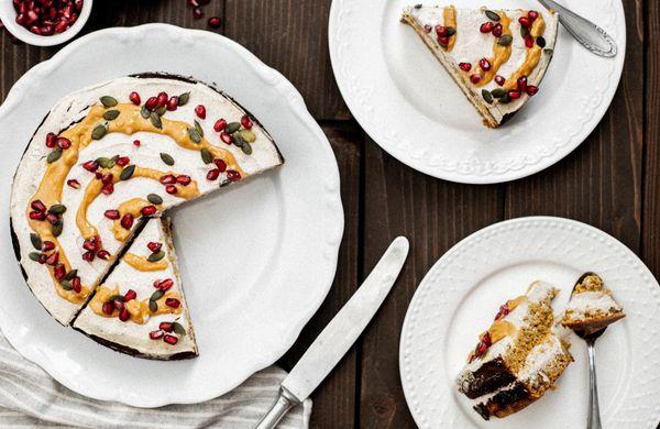 Neodolatelný dýňový dort jako z kavárny