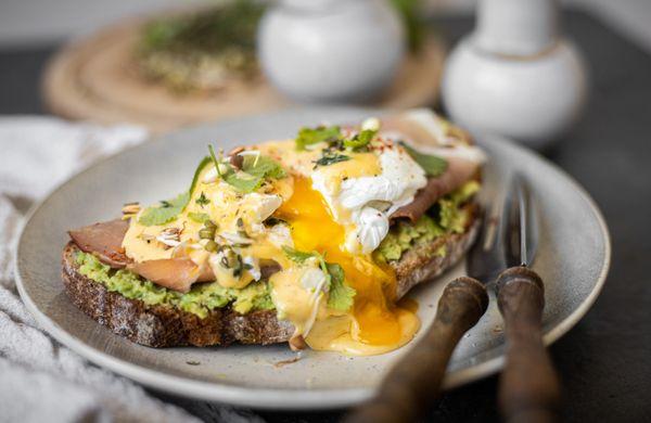 Raňajky ako z kaviarne: Vajcia Benedikt