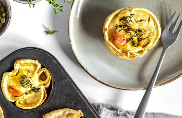 Tip na zdravou večeři: Jednoduché ricottové muffiny z wrapů