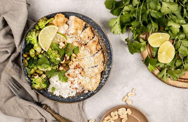 Tip na zdravý oběd: Teriyaki bowl